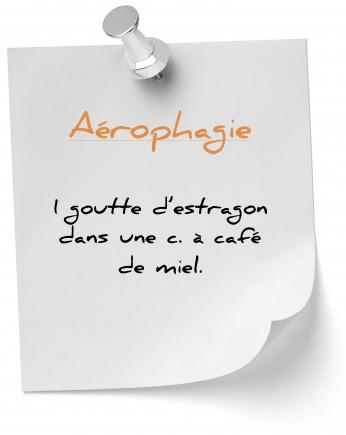 aérophagie et estragon