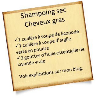 shampoing cheveux gras astuces huiles essentielles