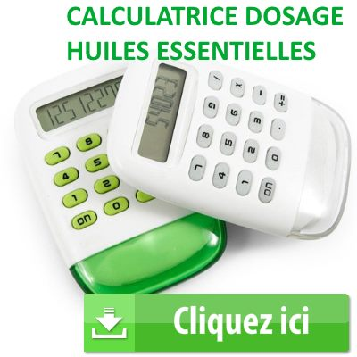 calculatrice dosage huiles essentielles