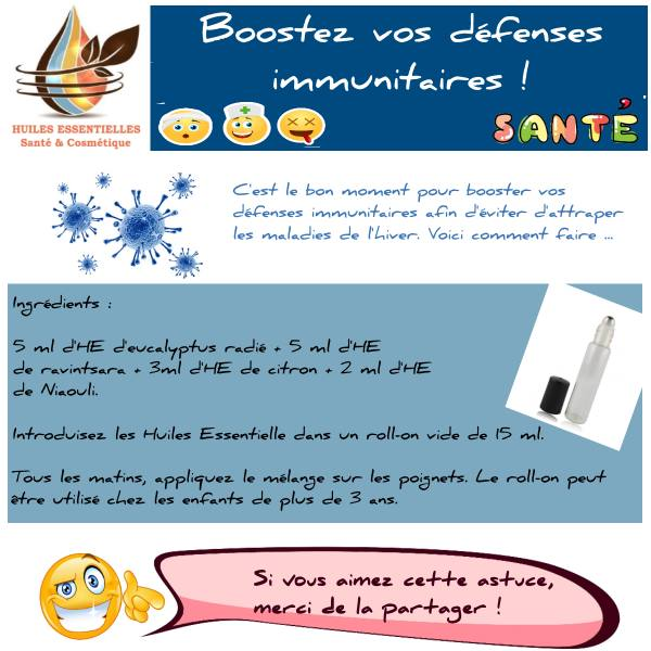 booster défenses immunitaires