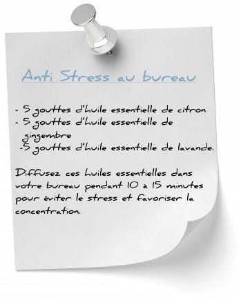 diffusion huile esentielle anti stress