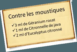 eucalyptus citronné contre les moustiques