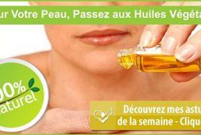 huiles végétales peau