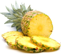 masque visage maison à l'ananas