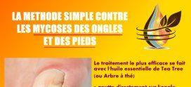 La méthode simple contre les mycoses des ongles et des pieds