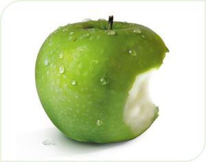 pomme coupe faim naturel