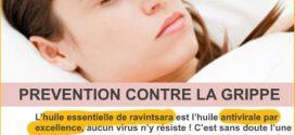 Prévention de la Grippe avec la Ravintsara