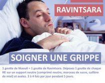 soigner grippe ravintsara niaouli