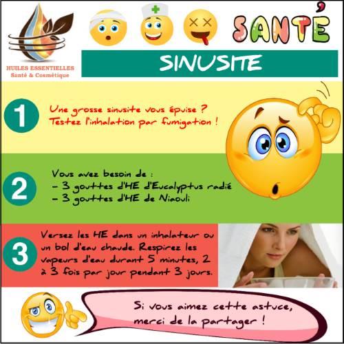 Soigner une sinusite par fumigation avec les huiles - Comment soigner un coup de soleil rapidement ...