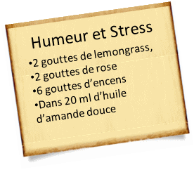 stress et lemongrass