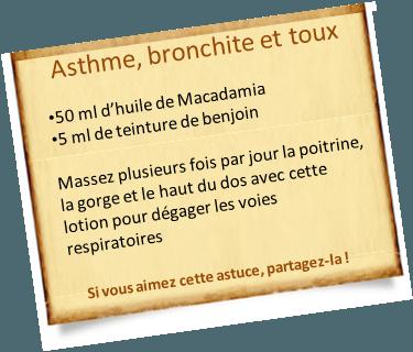 teinture de benjoin voies respiratoires