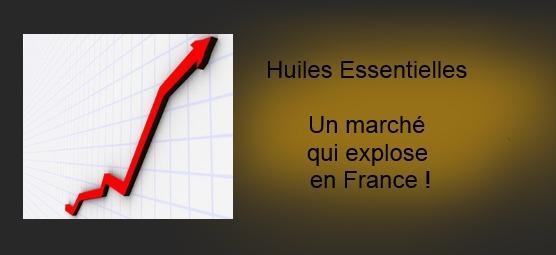 Les ventes d'huiles essentielles : Un marché en pleine progression en France
