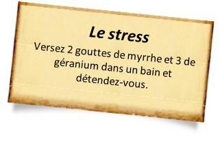 myrrhe contre le stress