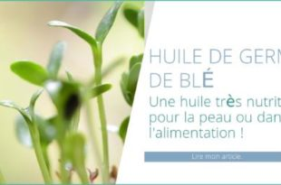 huile de germe de blé nutritive pour la peau et dans l'alimentation
