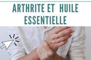 arthrite et huile essentielles : comment faire ?