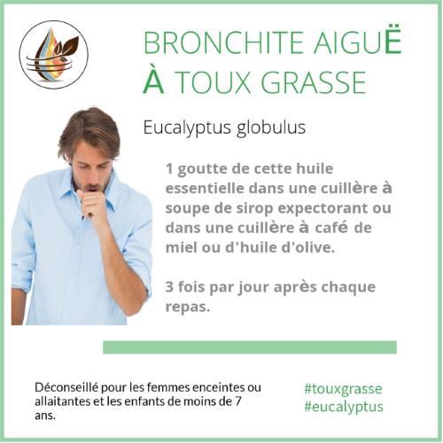 bronchite eucalyptus globulus