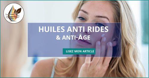 huile anti rides et anti âge