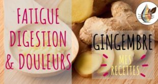 recettes huile essentielle gingembre
