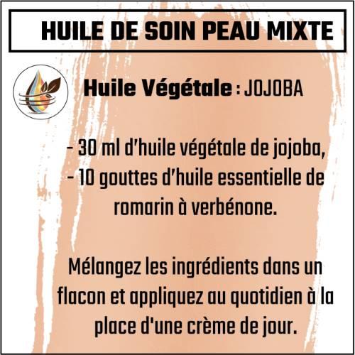 huile de jojoba pour peau mixte