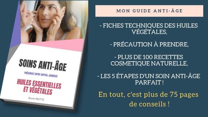 Mon guide anti-âge : Son contenu
