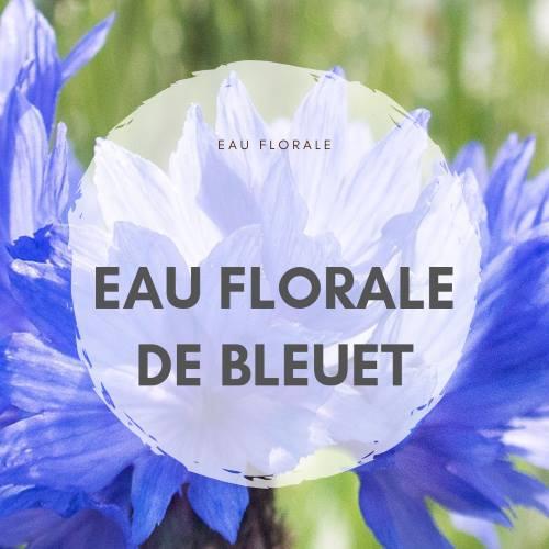 Eau florale de bleut contre les cernes