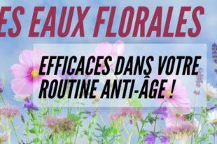 Eaux florales et hydrolats pour le soin du visage