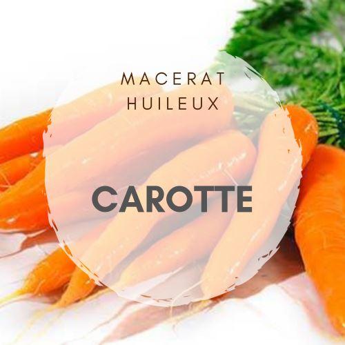Macérat de carotte pour le bronzage naturel