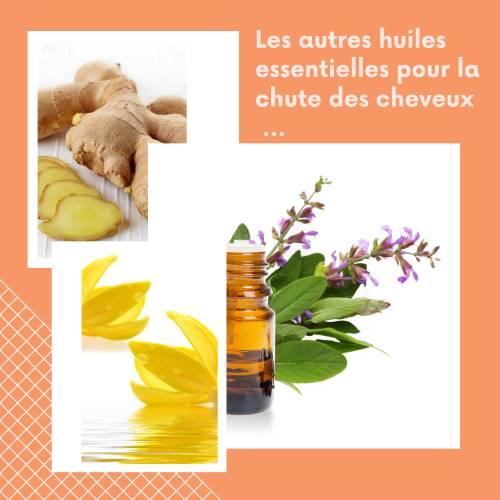 Les autres huiles essentielles contre la chute des cheveux