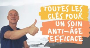Soin antiage efficace