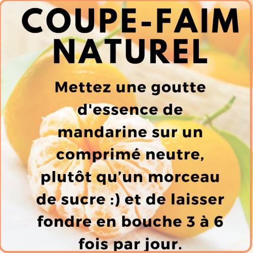 Coupe faim naturel aux huiles essentielles