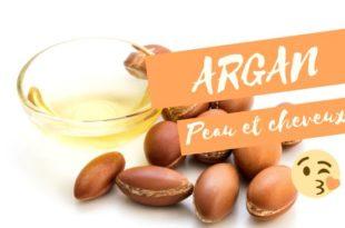 Huile argan pour la peau et les cheveux