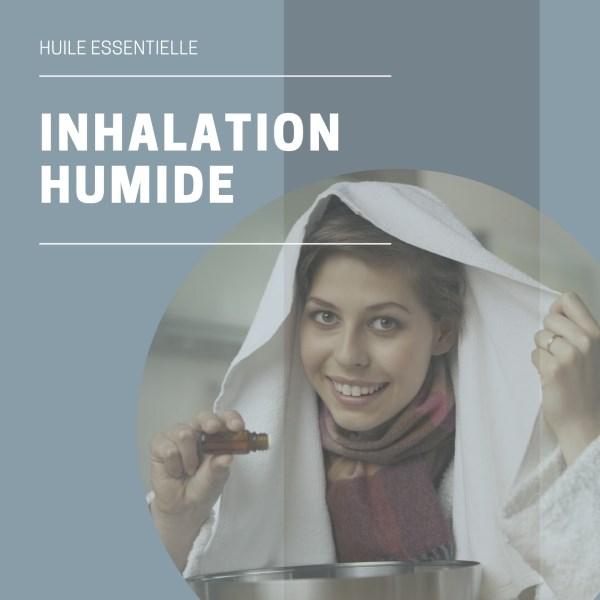 Inhalation huile essentielle sinusite
