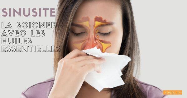 soigner sinusite avec huile essentielle