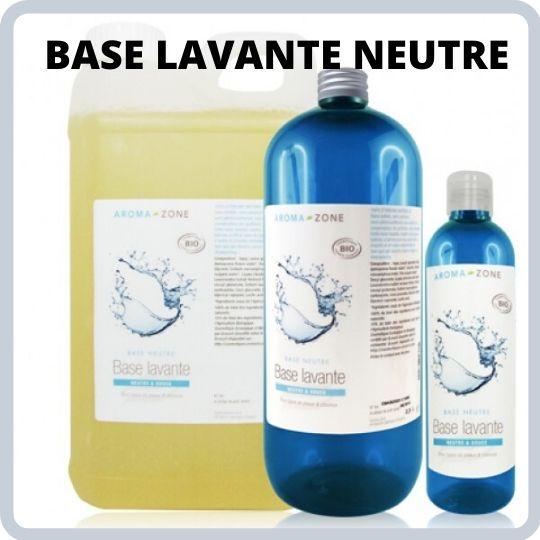 Base lavante pour fabriquer un gel douche aux huiles essentielles.