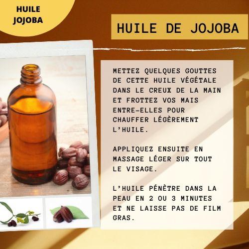 huile de jojoba pour les peaux grasses ou mixtes