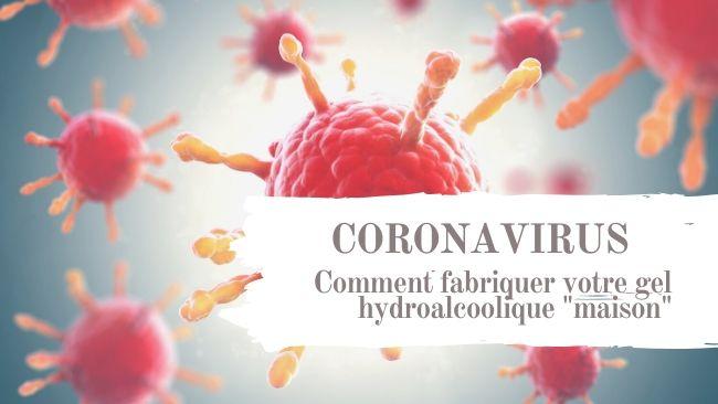 coronavirus : comment fabrique votre gel hydroalcoolique maison