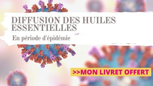 DIffusion des huiles essentielles en cas d'épidémie virale