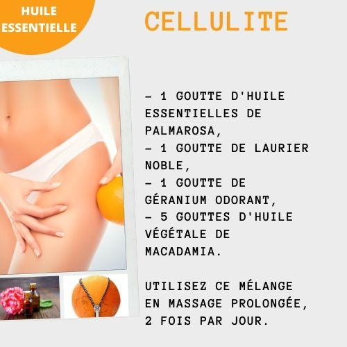 huiles essentielle de palmarosa contre la cellulite