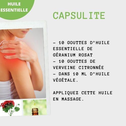 capsulite huile essentielle