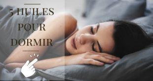 huile essentielle dormir