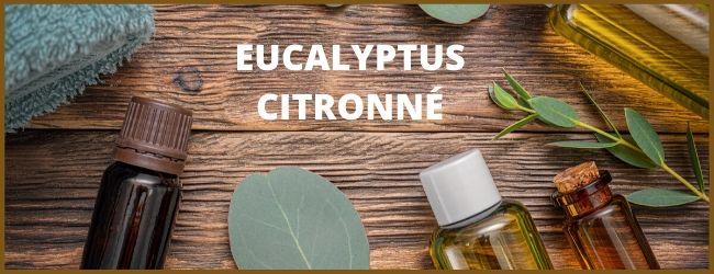 huile essentielle eucalyptus citronné contre une entorse