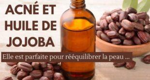 huile de jojoba contre l'acné