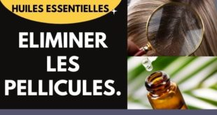 Eliminer les pellicules avec les huiles essentielles