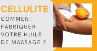 massages aux huiles essentielles contre la cellulite