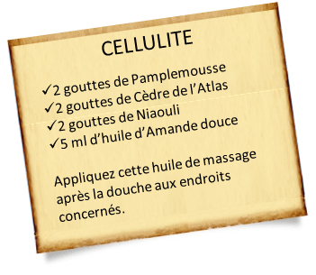 cèdre de l'atlas et cellulite