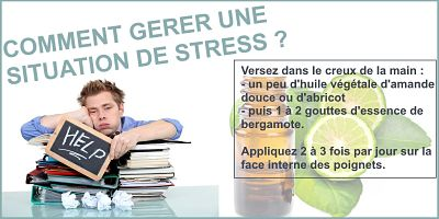 huiles essentielles anti stress