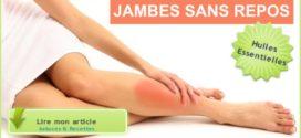 jambes sans repos huiles essentielles