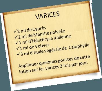 lentisque pistachier contre les varices