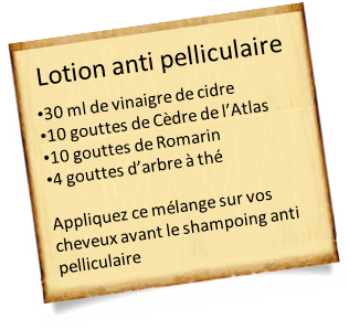 lotion anti pelliculaire