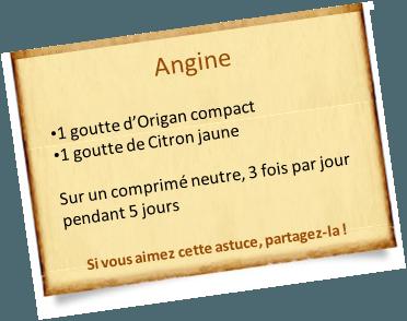 origan compact angine